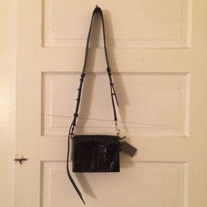 44aa9f2c314b All Saints Bags - AllSaints Zep Shiny Shoulder Bag